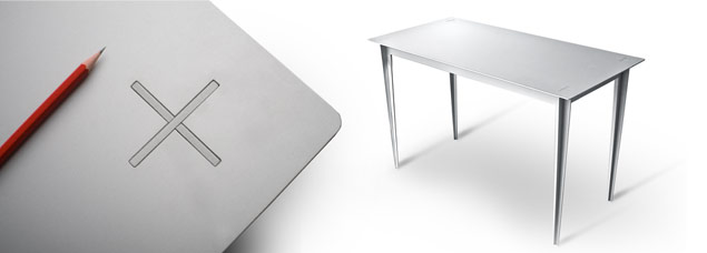 Plus Desk By Goodwin + Goodwin Design
